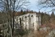 Pohled na kuklovský klášter od hradu.