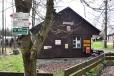 Nejstarší česká poštovna byla do kempu u Ounuzu přestěhována ze Sněžky v roce 2009.
