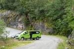 Norsko poblíž Hardangerfjordu