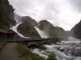 Låtefossen, Norsko