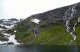 Poblíž města Odda, Norsko