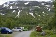 Poblíž jezera Valldalsvatnet, Norsko