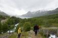 Nad jezerem Valldalsvatnet, Norsko