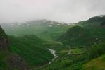 Údolí říčky Valldalselva, Norsko