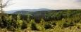Panorama s pohledem na Králický Sněžník.