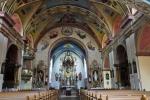 Interier kostela.