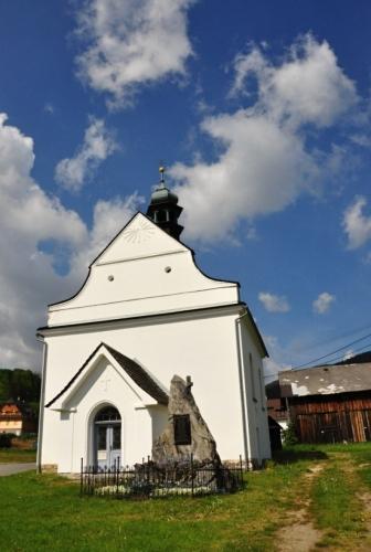 Kostelík v Kunčicích.