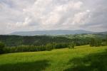 Pohled k Rychlebským horám.