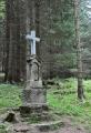 Kříž u zaniklé obce Josefovéá.