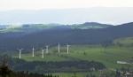 Větrné elektrárny u Ostružné.