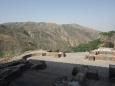 U chrámu Garni, Arménie