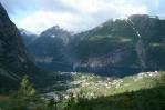 Vesnice Tyssedal a Sørfjorden, Norsko