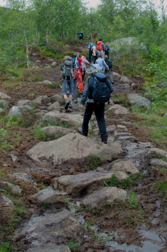Počet návštěvníků Trolltungy prý mezi lety 2009 a 2014 vzrostl z 500 ročně na 40 000 ročně. Odhad za rok 2015 si na základě dnešního pochodu udělat netroufáme, ale můžeme konstatovat, že asi tak každý dvacátý návštěvník je Čech.