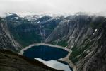Jezero Ringedalsvatnet, Norsko