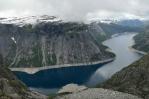 Trolltunga a okolí, Norsko