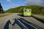 Silnice E134 a okolí, Norsko