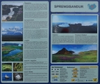 Povídání (islandsky a anglicky) o Sprengisandur, Aldeyjarfossu a Hofsjökullu.