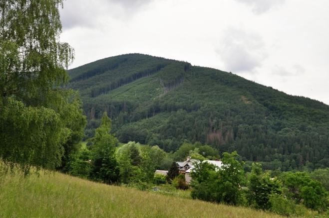 Malý Javorový (947 m n. m.).