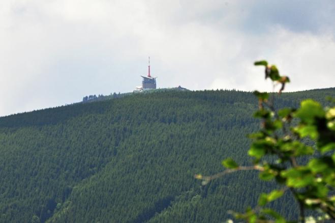 Poslední pohled k Lysé hoře.