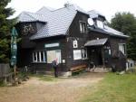 Turistická chata Ostrý.