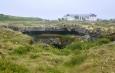 Zarostlé lávové pole u Mývatnu