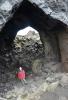 Vnitřek jeskyně Kirkja