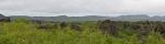 Panorama hor v okolí Dimmuborgiru, levá část (pohled zhruba na východ)