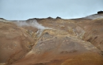 Solfatary na hoře Námafjall