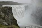 Dettifoss, nejmohutnější evropský vodopád, ze západní strany