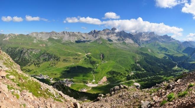 Jsme ale na vrcholu Col Margharita a opak je pravdou.