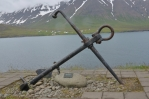 Kotva na vyhlídce u Ólafsfjörðuru