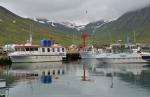 Přístav v Siglufjörðuru