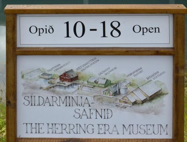 Plánek muzea sleďové éry