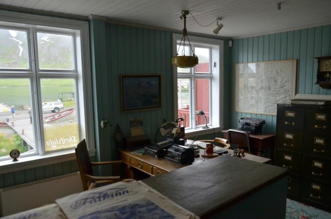 Kancelář pro kapitány rybářů