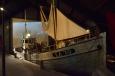 Rybářské lodě v muzeu