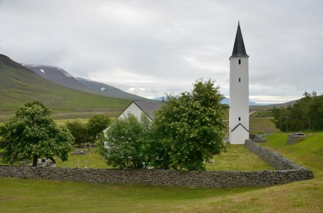 Kostel v Hólaru, zvonice