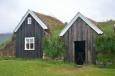 Trávový domeček Nýibær z roku 1860