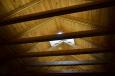Střecha srubu