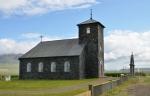 Kamenný kostel þingeyrar, vysvěcený roku 1877. Od 12. století až do reformace v 16. století zde stával klášter.