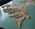 Západní fjordy na 3D modelu Islandu na radnici v Reykjavíku. Třeba se tam podíváme příště.