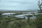 Jezero Thingvallavatn zatopilo velkou část propadliny