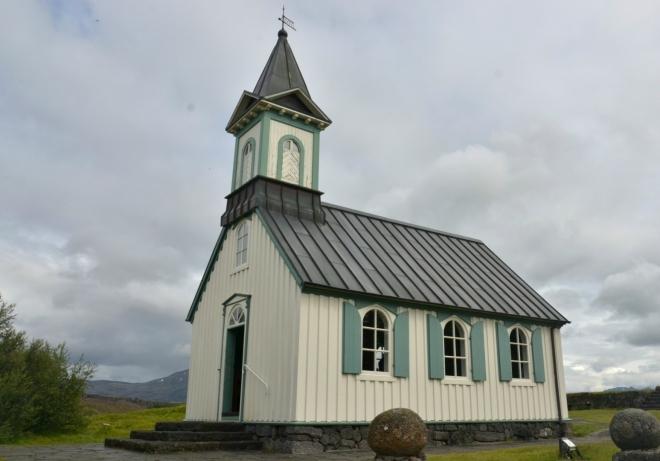 Kostelík v Thingvelliru