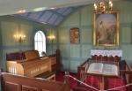 Vnitřek kostelíka