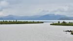 Pohled na jezero Thingvallavatn