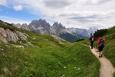 Nad horskou chatou M. Piana A. Bosi.