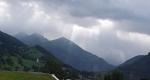 Bouře nás doprovází i cestou domů přes Rakousko.
