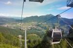 Lanovka k Rifigi Paion (2 229 m n. m.).