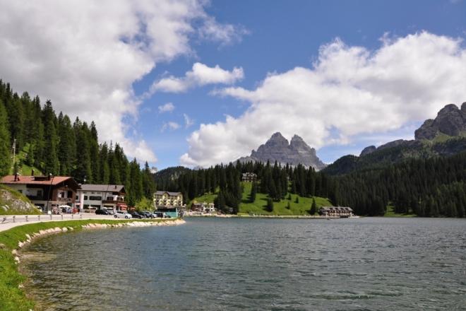 Jezero Misurina.