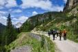Cestou na Monte Piana.