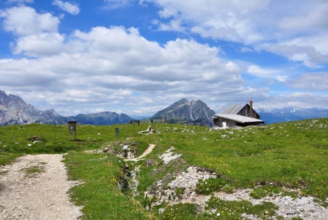 Rozlehlá planina byla za l. sv. války velkým bojištěm.